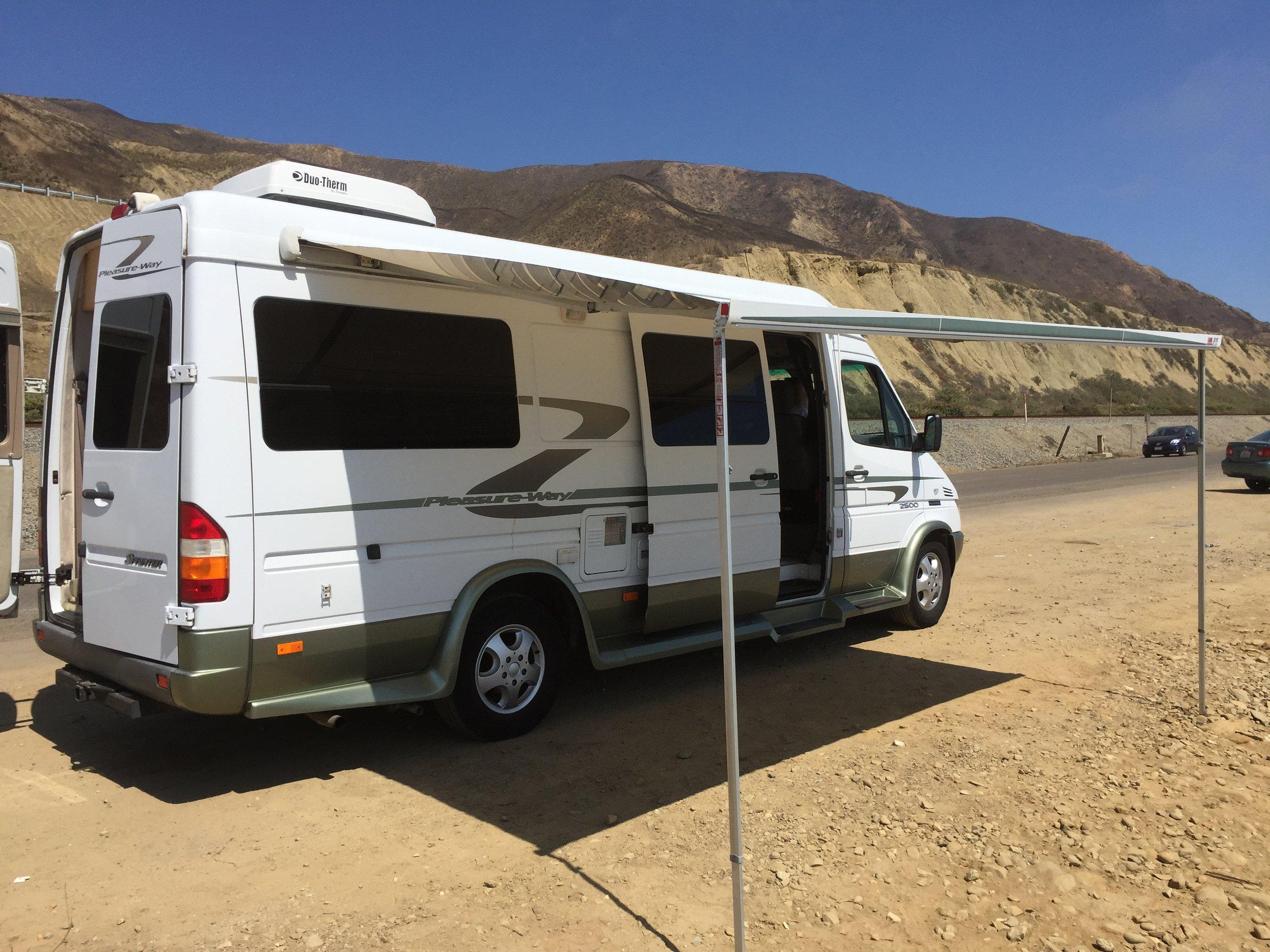 Mercedes Sprinter RV Rental Los Angeles, Mercedes RV For