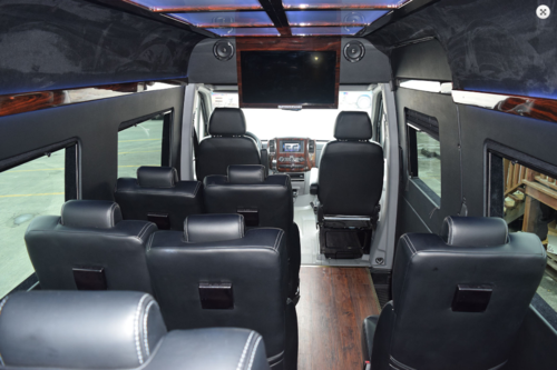 14 Passenger Sprinter Van Rental Los Angeles Orange County