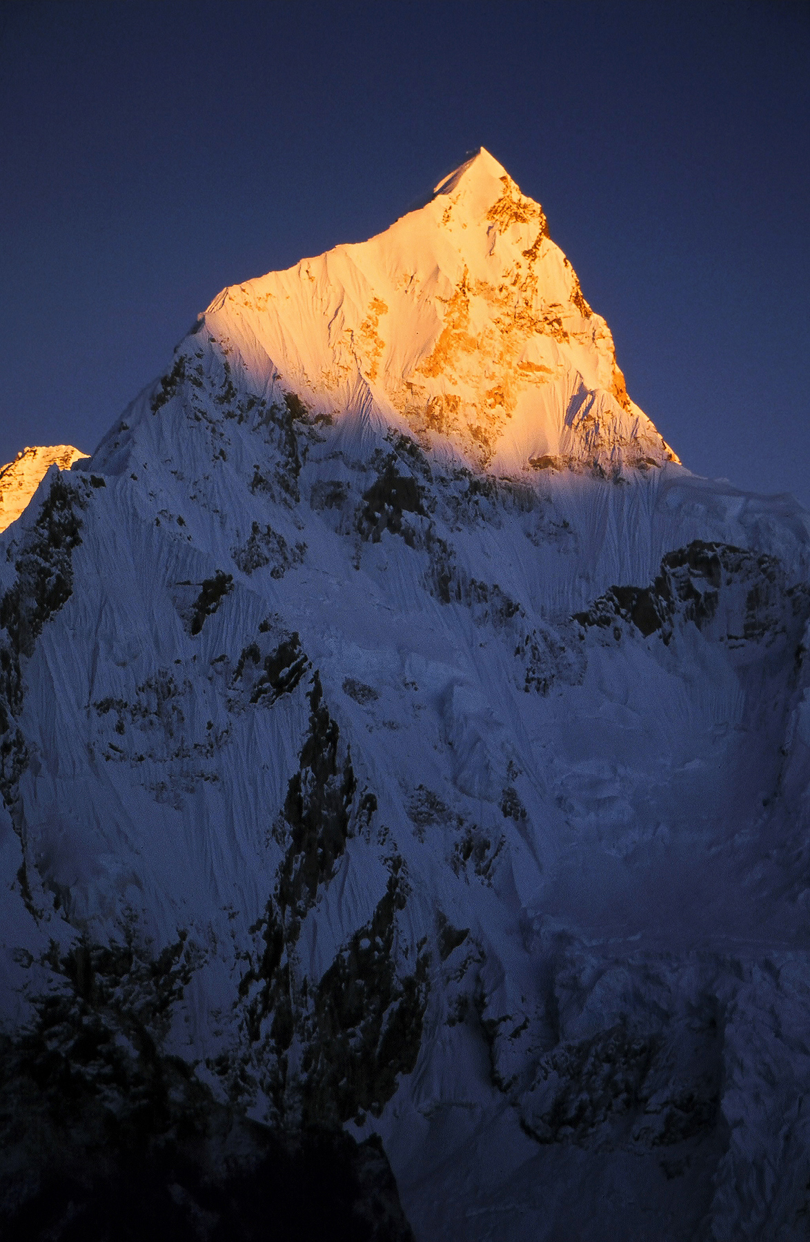 Last Light on Nuptse