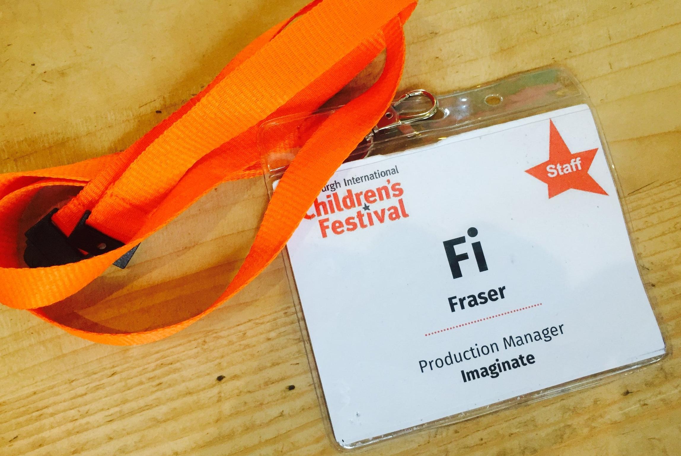 Edinburgh International Childrens Festival 2018