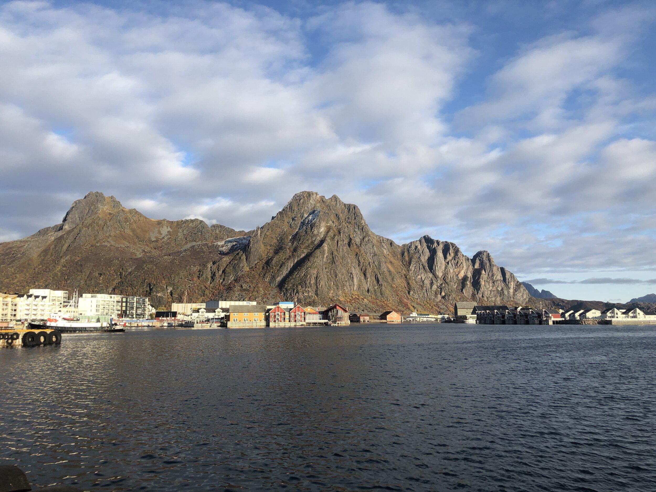 Great views to make work - Norway 2019