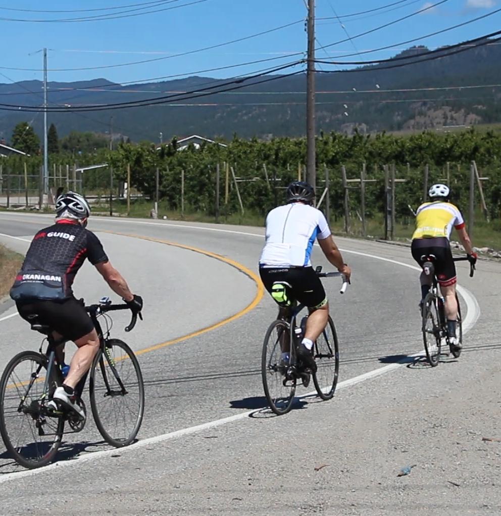Cycling in Naramata