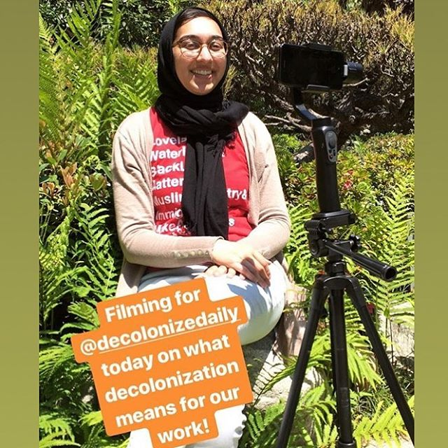 Deep gratitude to @saharpirzada of @vigilantlove for sharing perspective on #decolonization and supporting the #DecolonizeDaily app! More from Sahar and other community leaders as part of our online fundraiser starting soon!