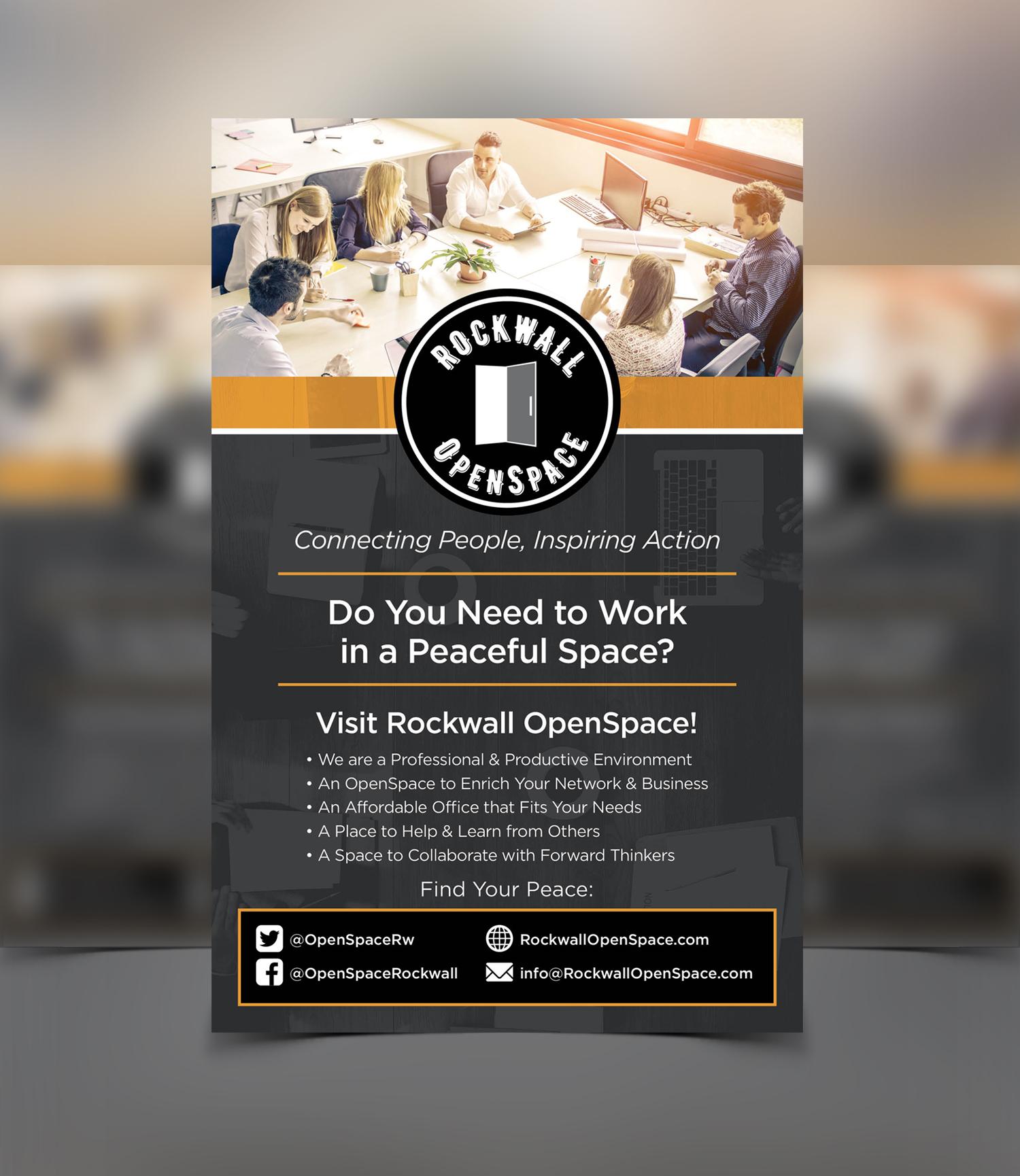 Harpoon Design Group – Rockwall OpenSpace Flyer Front