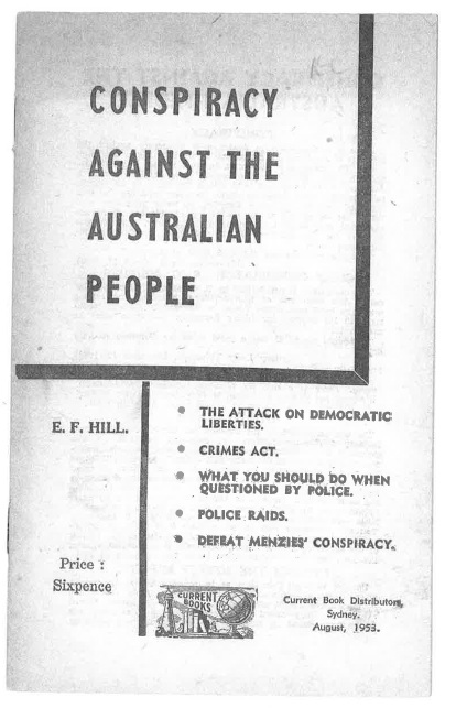Conspiracy Against The Australian People (1953)