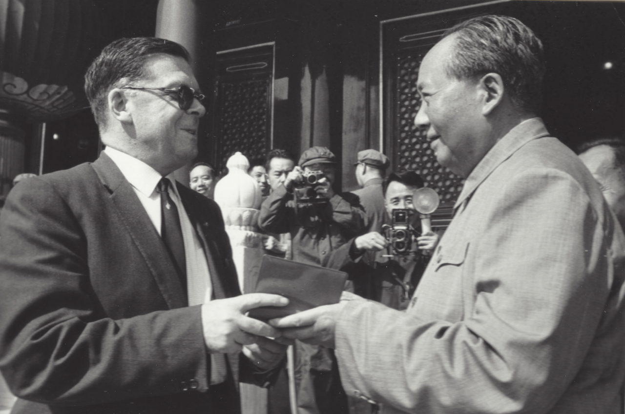Ted Hill and Chairman Mao