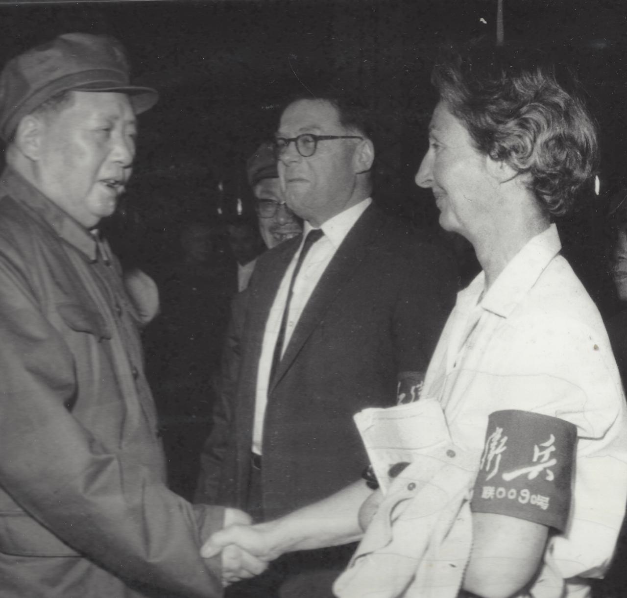 Chairman Mao, Joyce and Ted.jpg