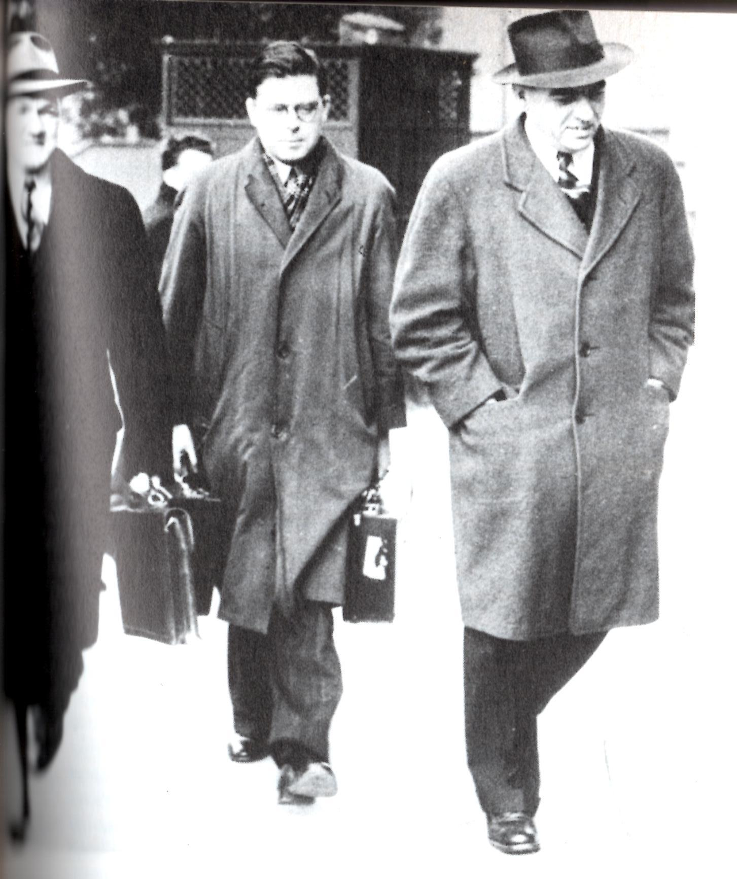 Ted Hill, Jack McPhillips, Ernie Thornton