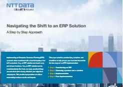 GUIDE :  Looking at taking the leap to ERP for the first time? Our experts have put together this step-by-step guide.