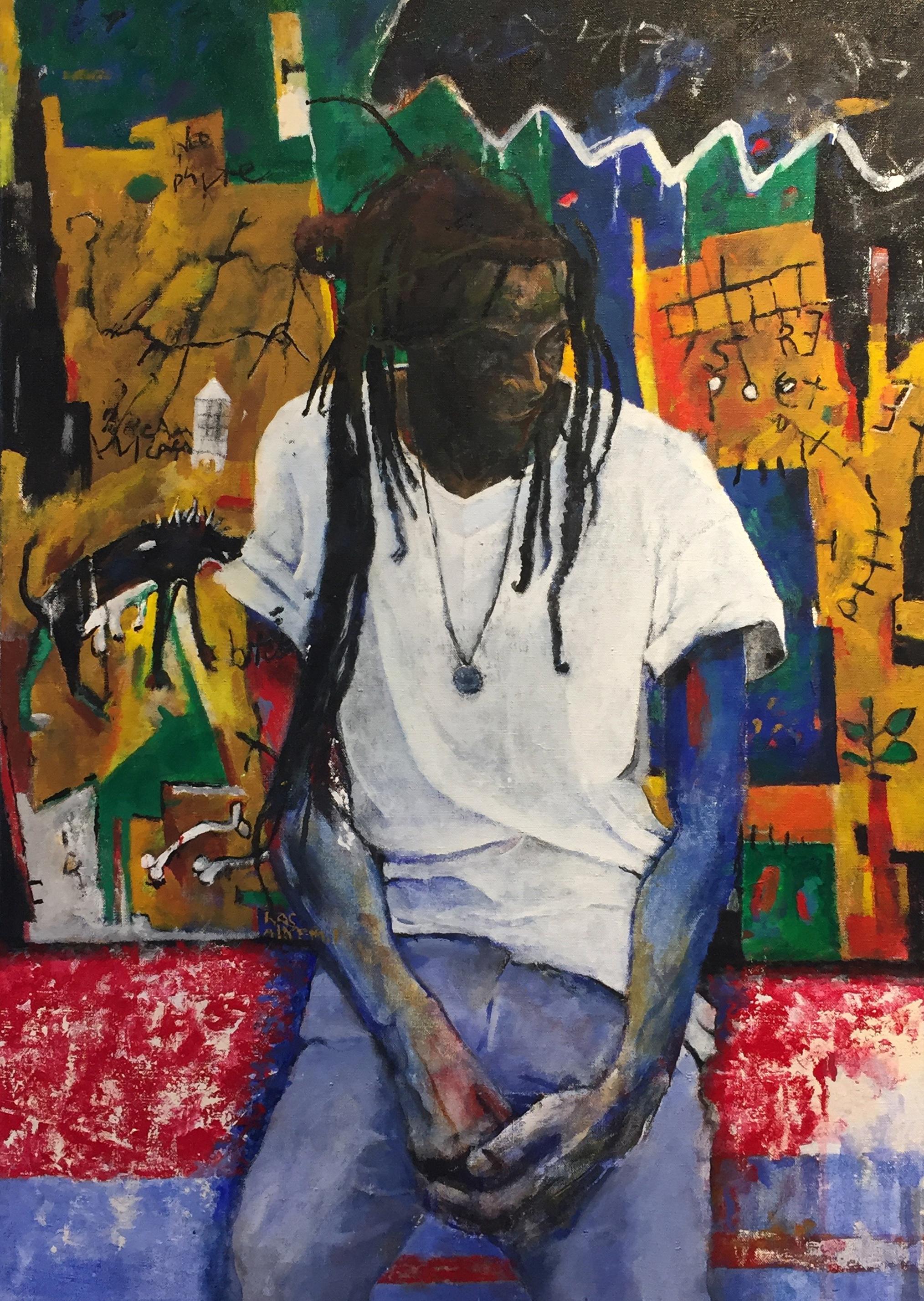 Street Poet (Portrait of Akyem)