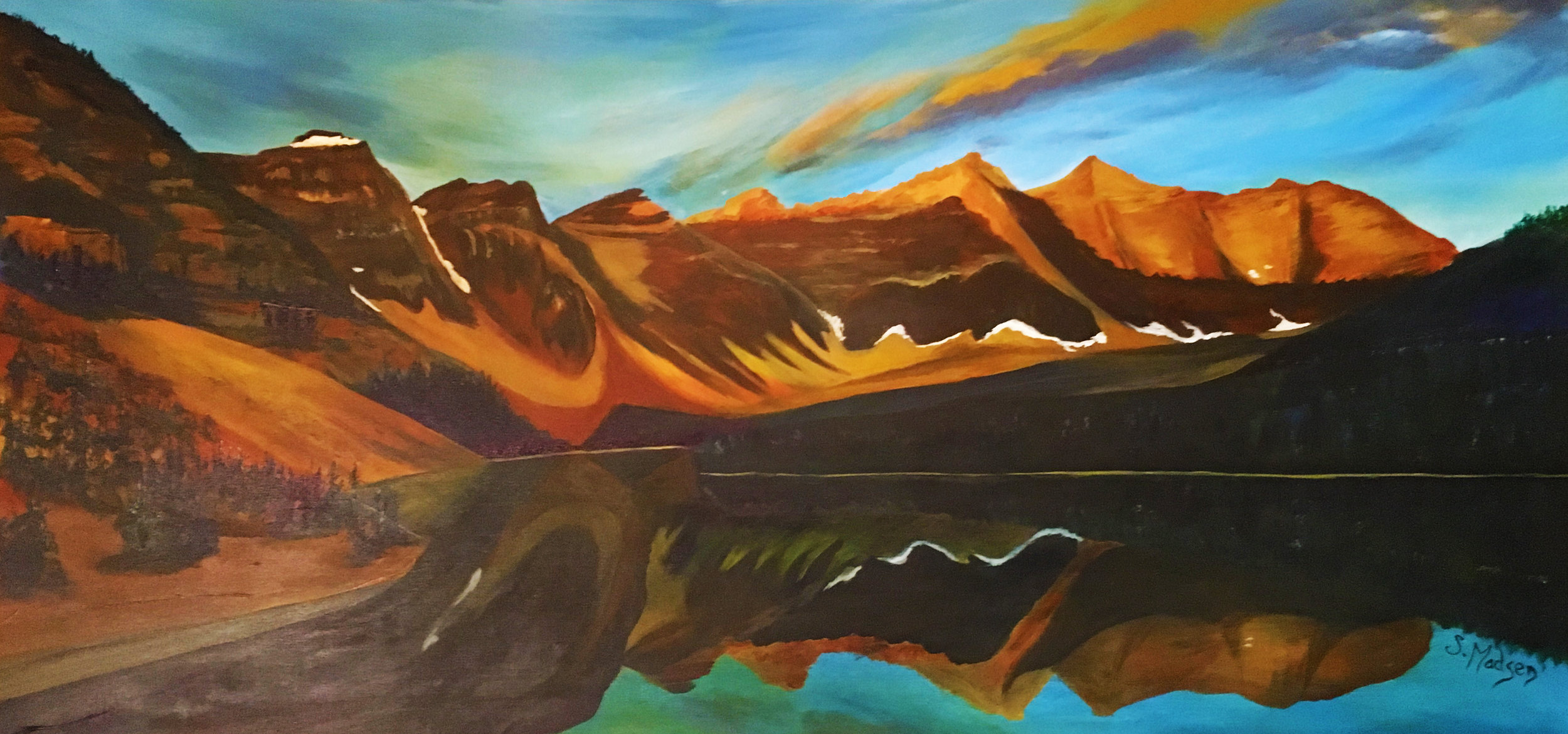 10 peaks, Banff, Alberta - commission