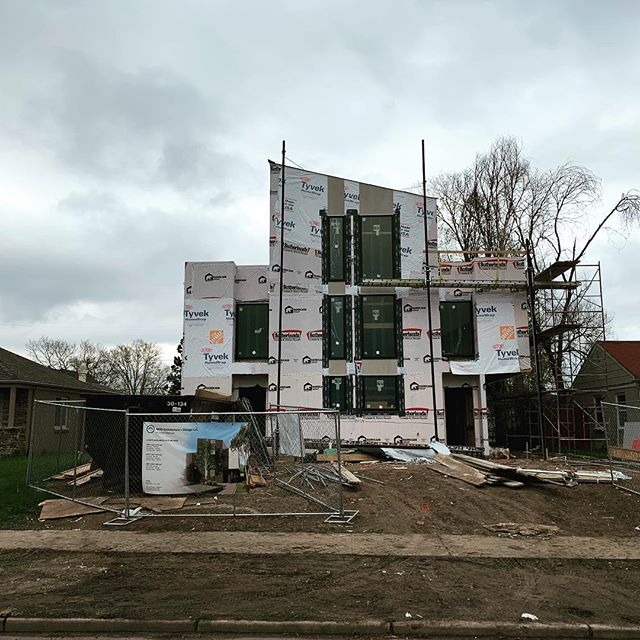 Things are moving fast on Perry ... #mod #architecture #design #develop #3unit #modern #Denver #denvercolorado