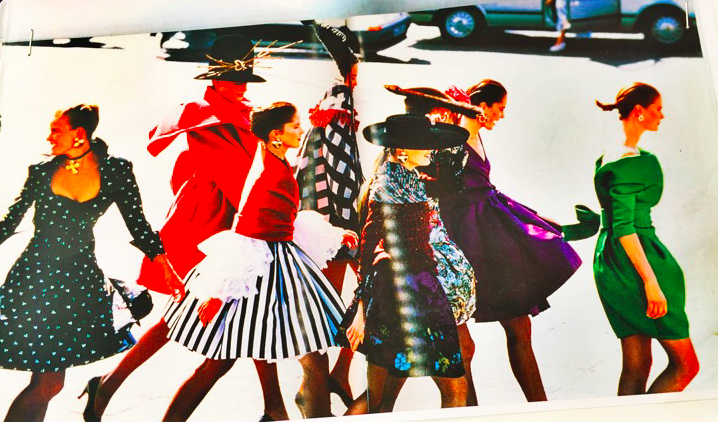 The cover of my planning book. A great fashion moment from 1990!