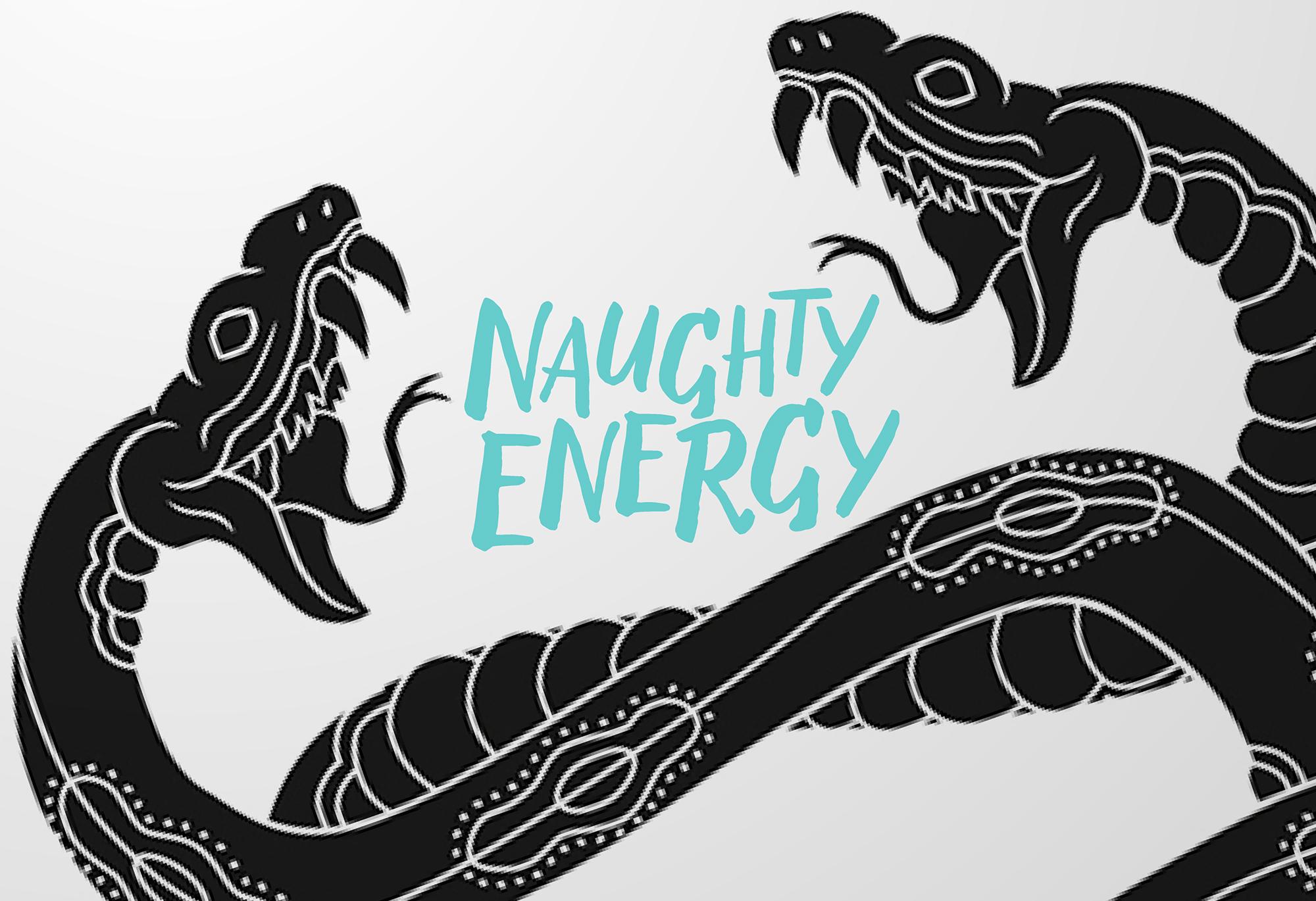 Naughty Energy logo