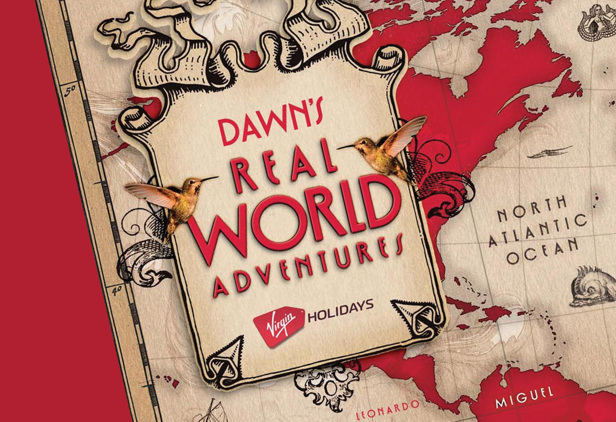 Virgin Holidays Real World Adventures logo