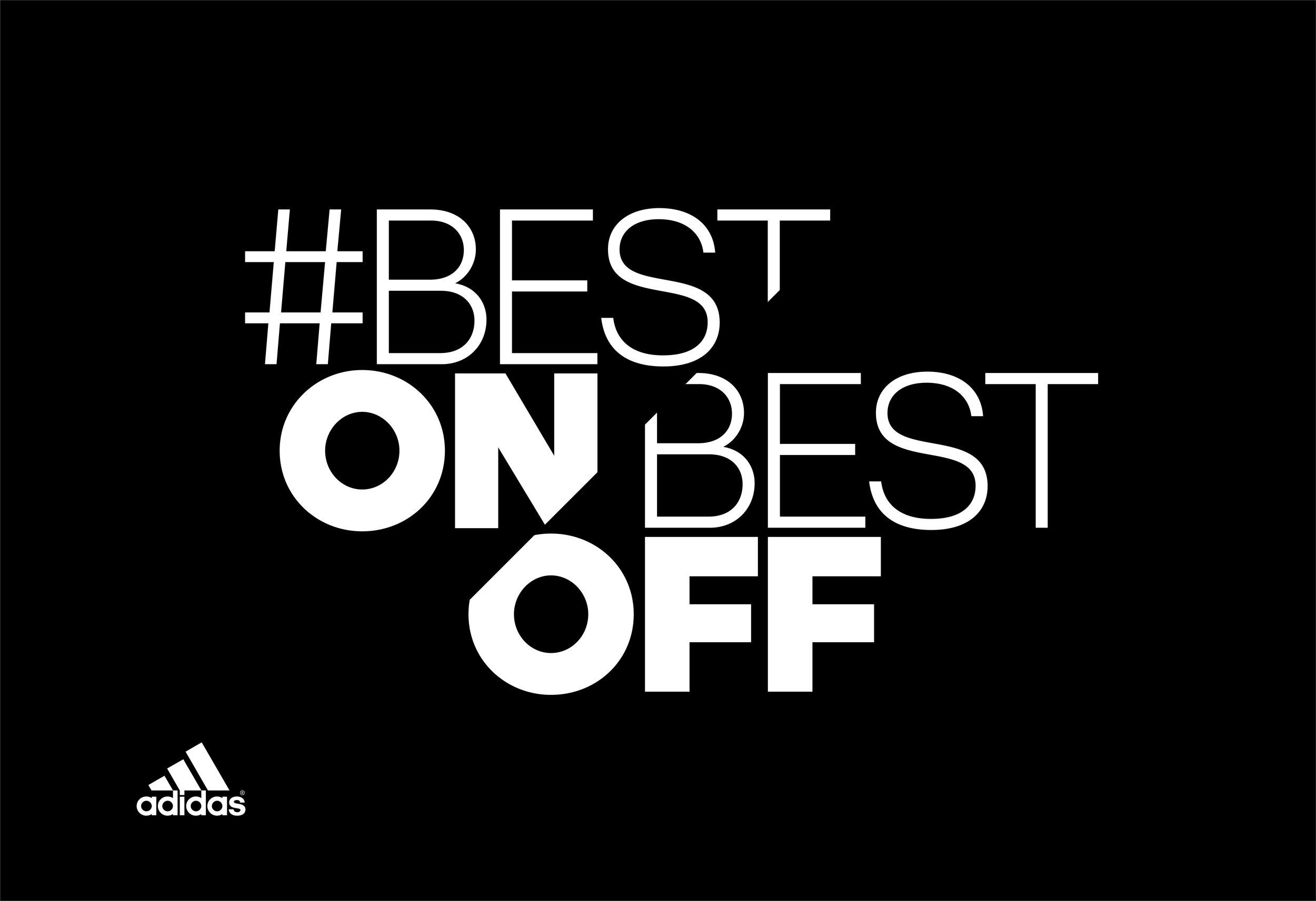 Adidas Best On Best Off logo