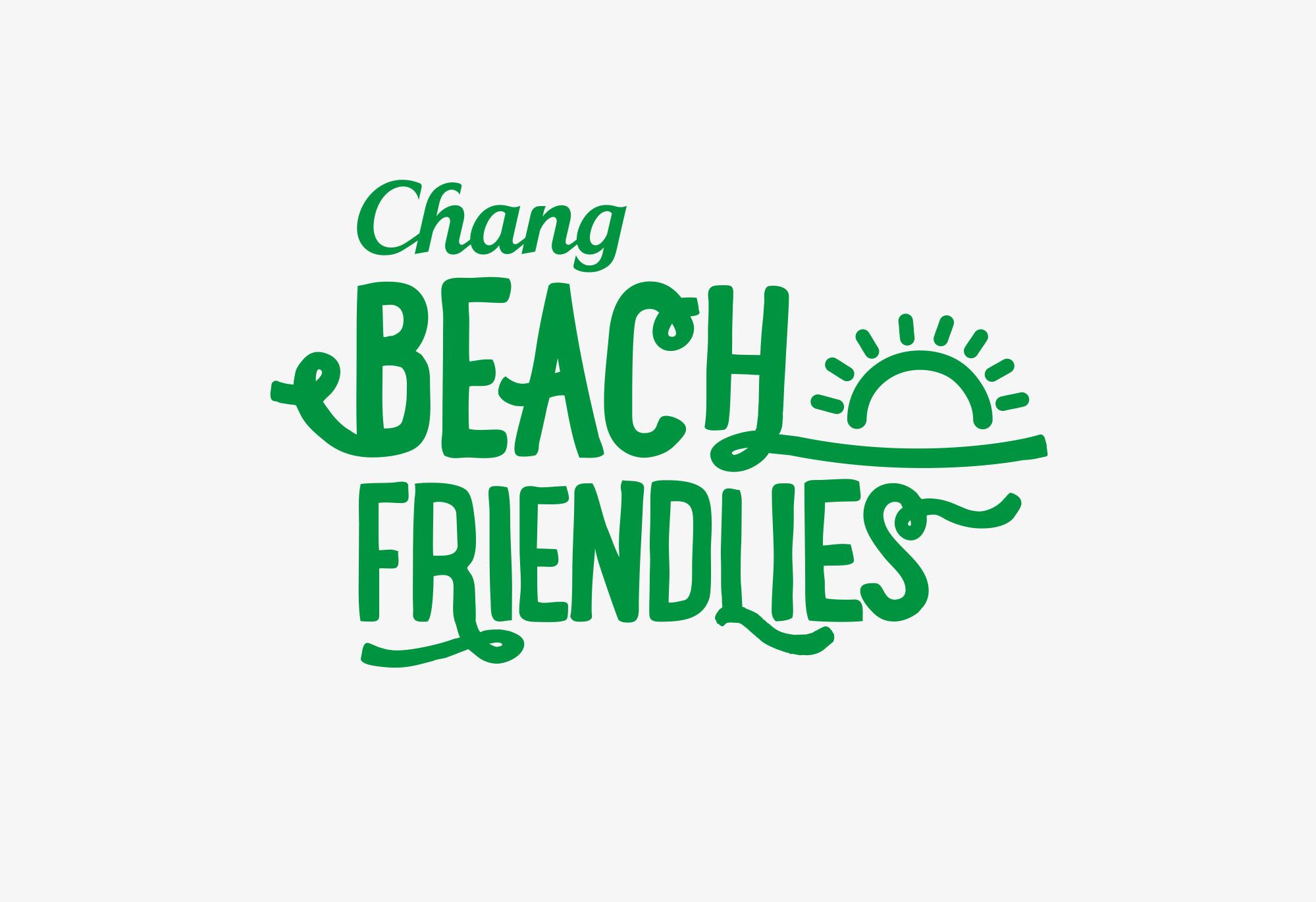 Chang Beach Friendlies logo