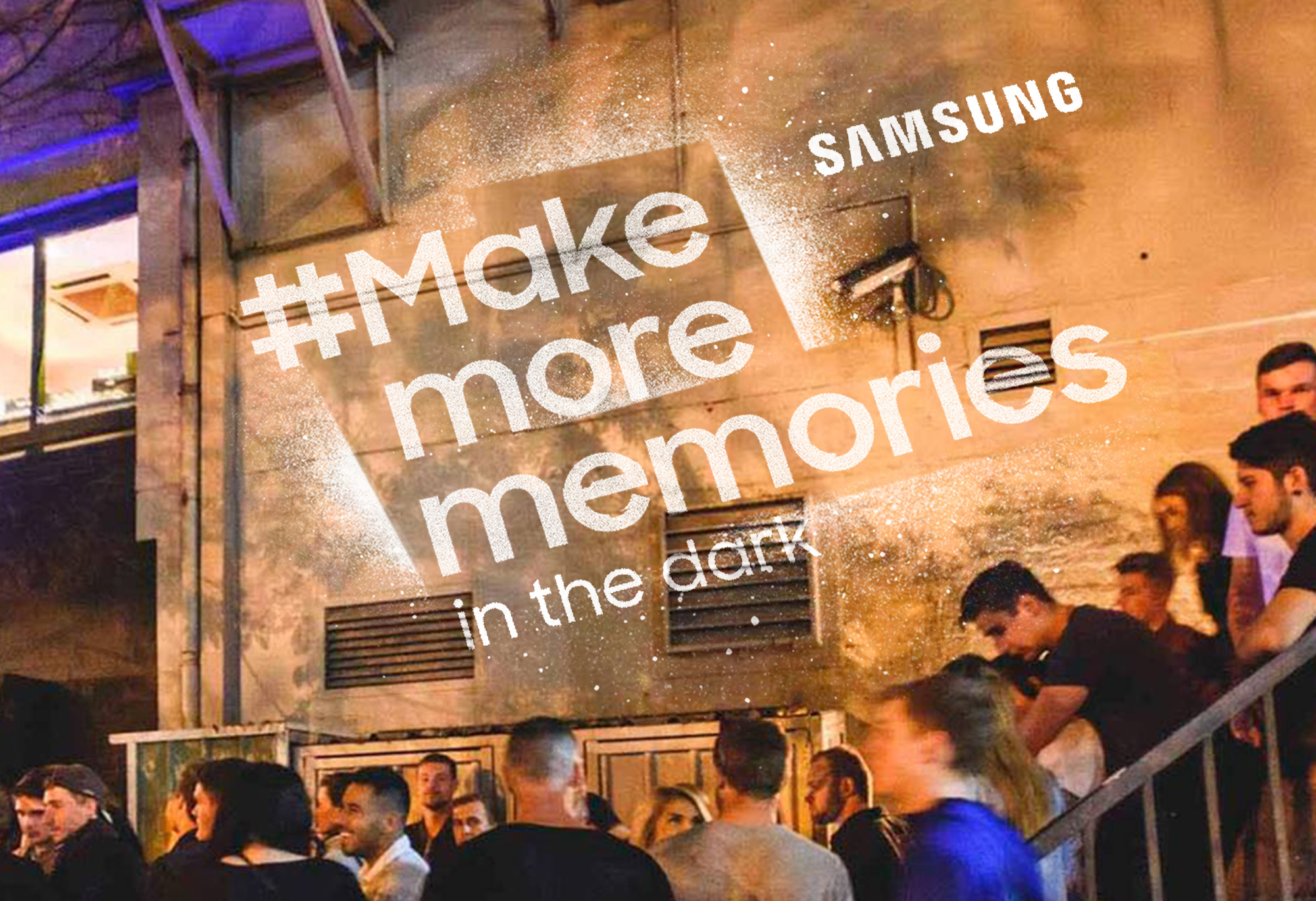 Samsung Make More Memories logo