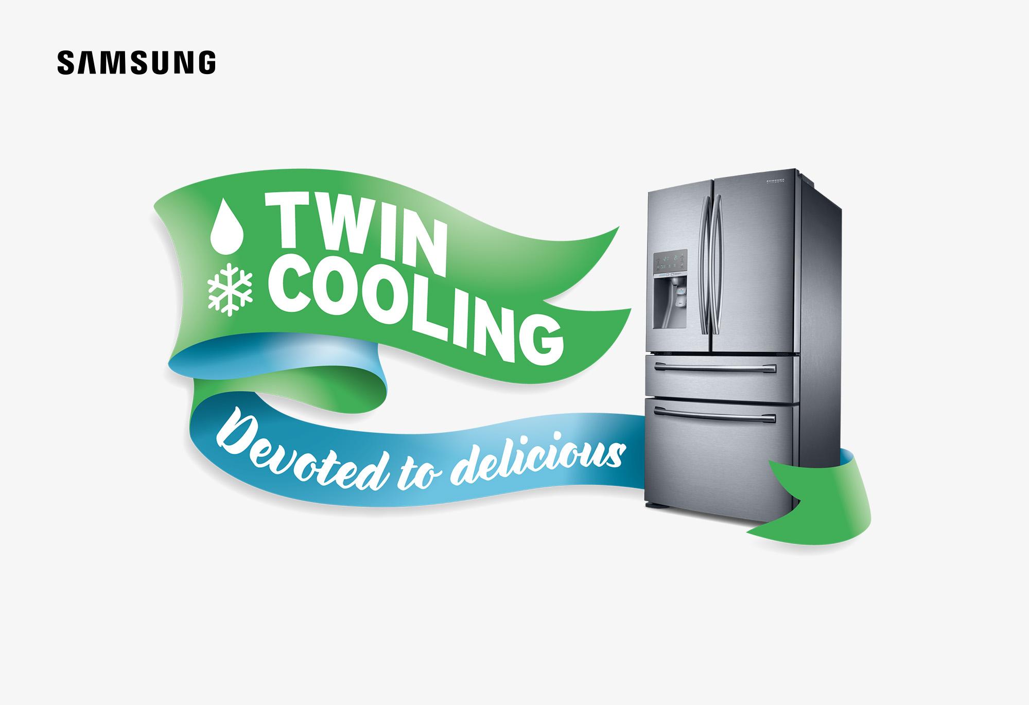 Samsung Twin Cooling logo