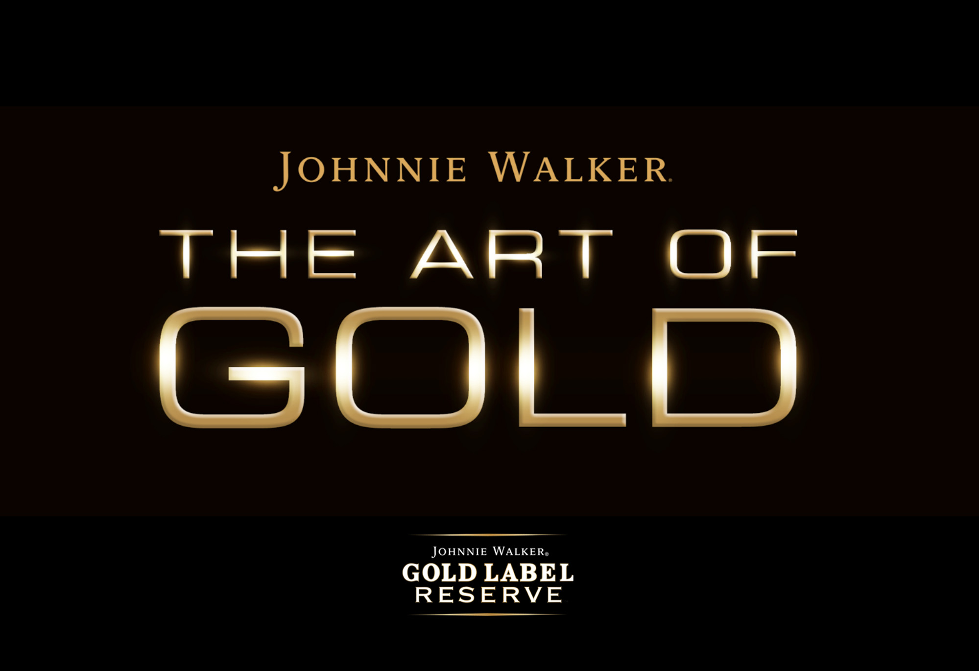 Johnnie Walker The Art of Gold logo