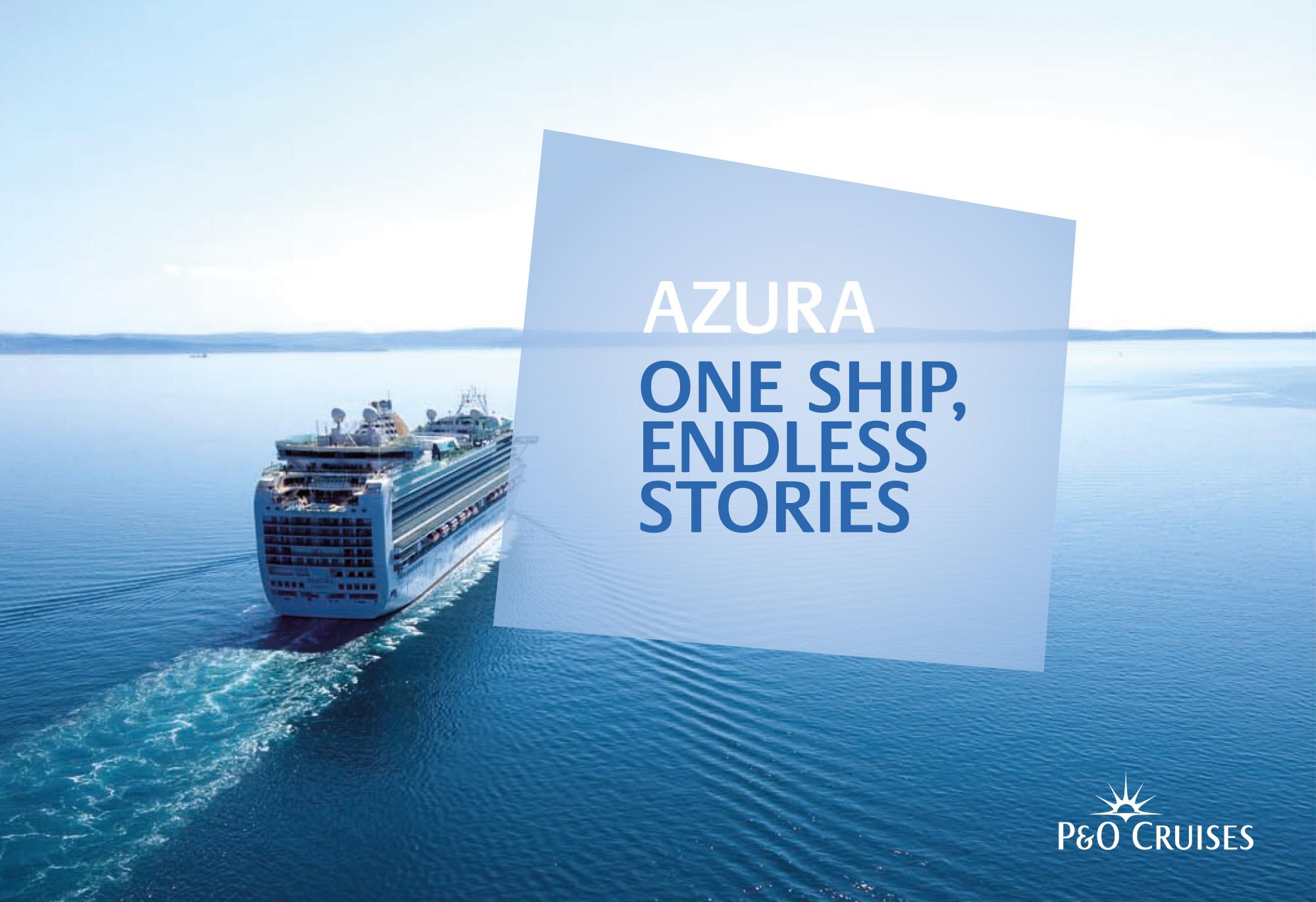 P&O Cruises Azura Cruiseliner logo