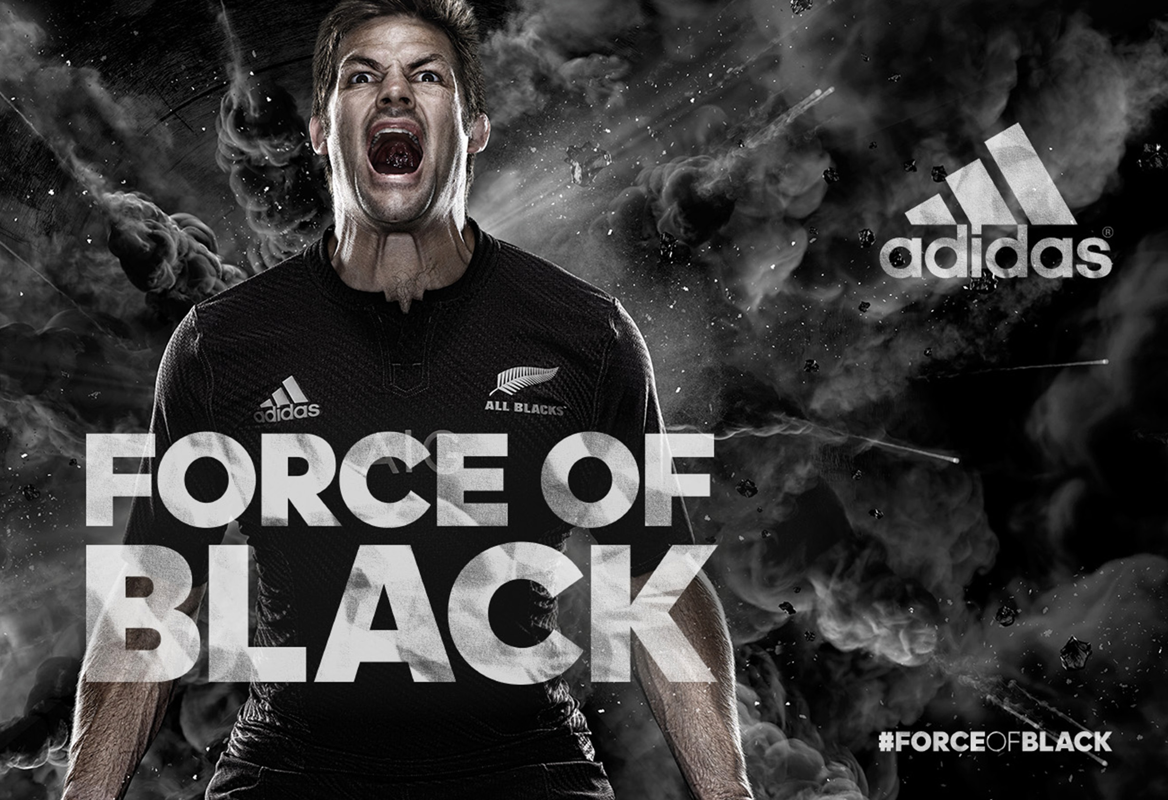 Adidas Rugby All Blacks Force of Black