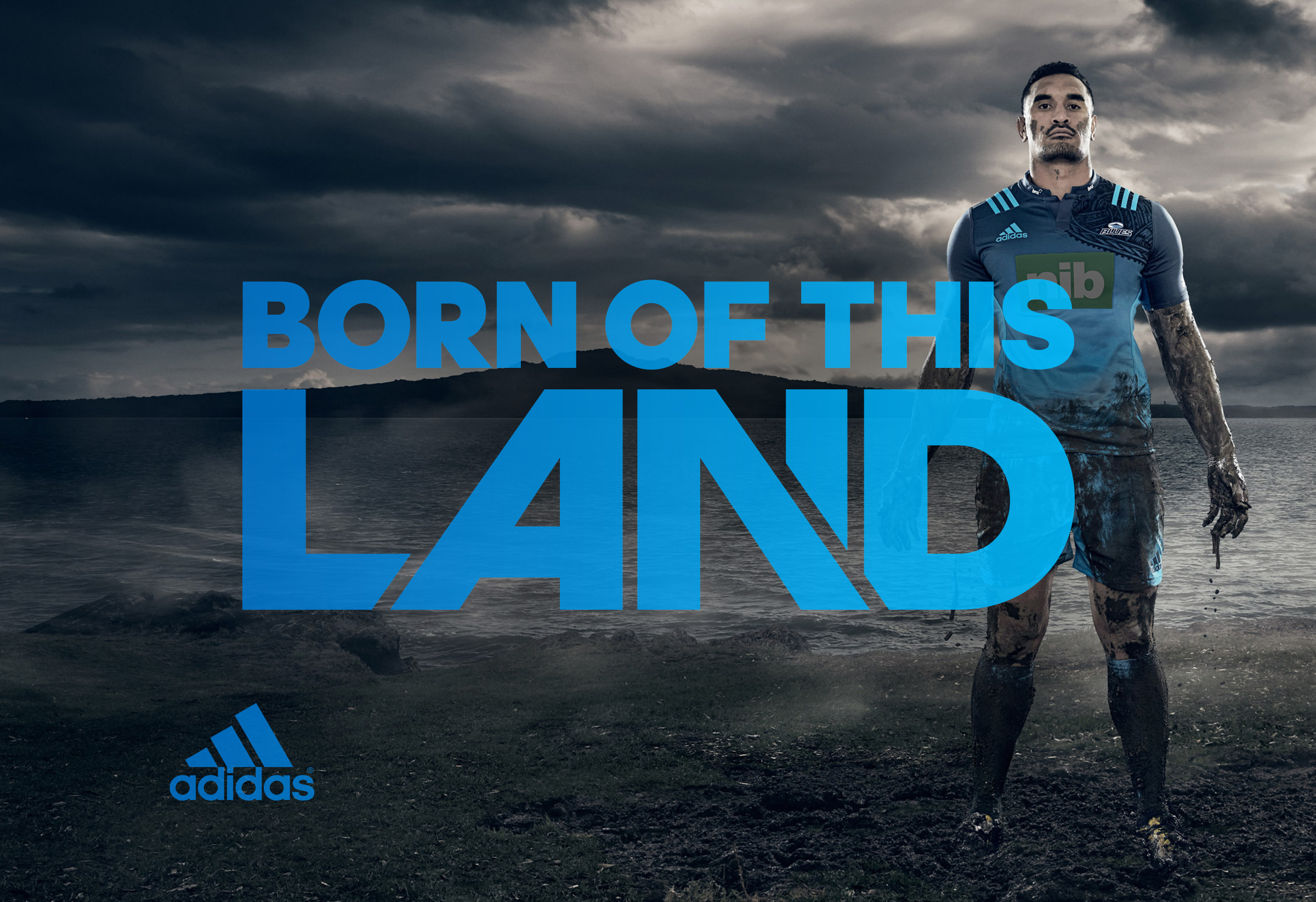 Adidas Super Rugby Born ofThis Land logo