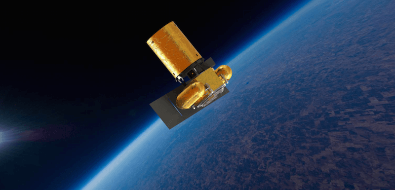 A digital illustration of the Planetary Resources Arkyd 101 Space Telescope–a tool which will be used to identify valuable asteroids. Source:  Mic