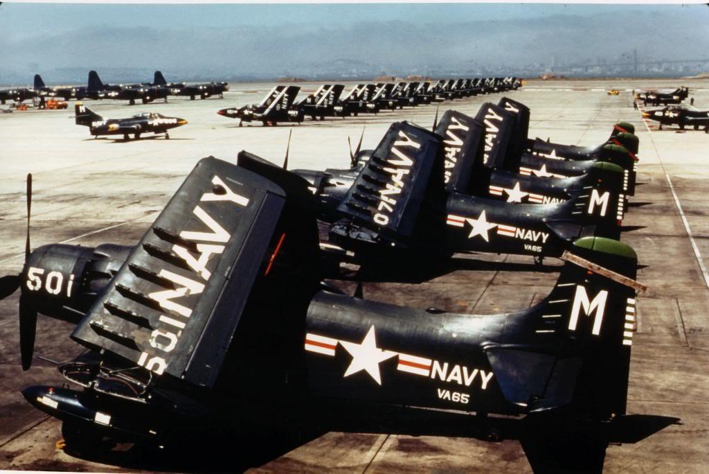 AD-4NAsofAttackSquadronSixty-FiveVA-65onthegroundatNavalAirStationNASAlameda_zps2f903263.jpg