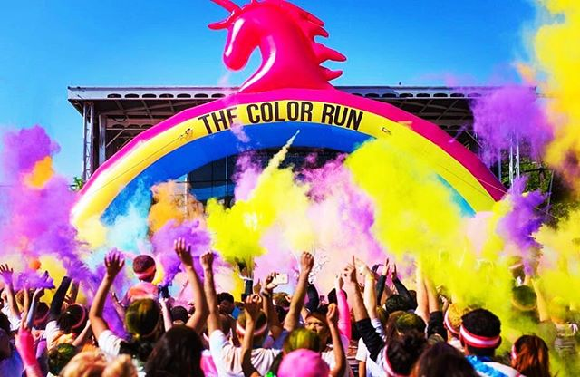 The happiest 5k is coming to the island 🦄 #colorrun2017 #thecolorrun #colorrun #5k #alamedapoint #alameda #california