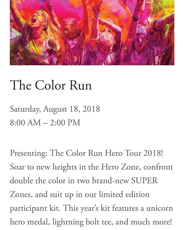 Up next! #thecolorrun #5k #alamedapoint #alameda #california