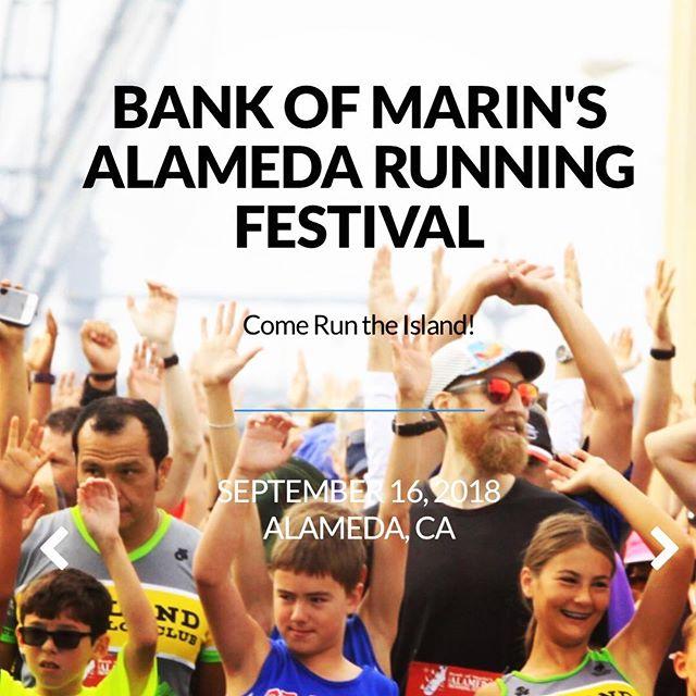 Up next ⚓️ . #5k #10k #halfmarathon #sundayfunday #runalameda #alamedapoint #alameda