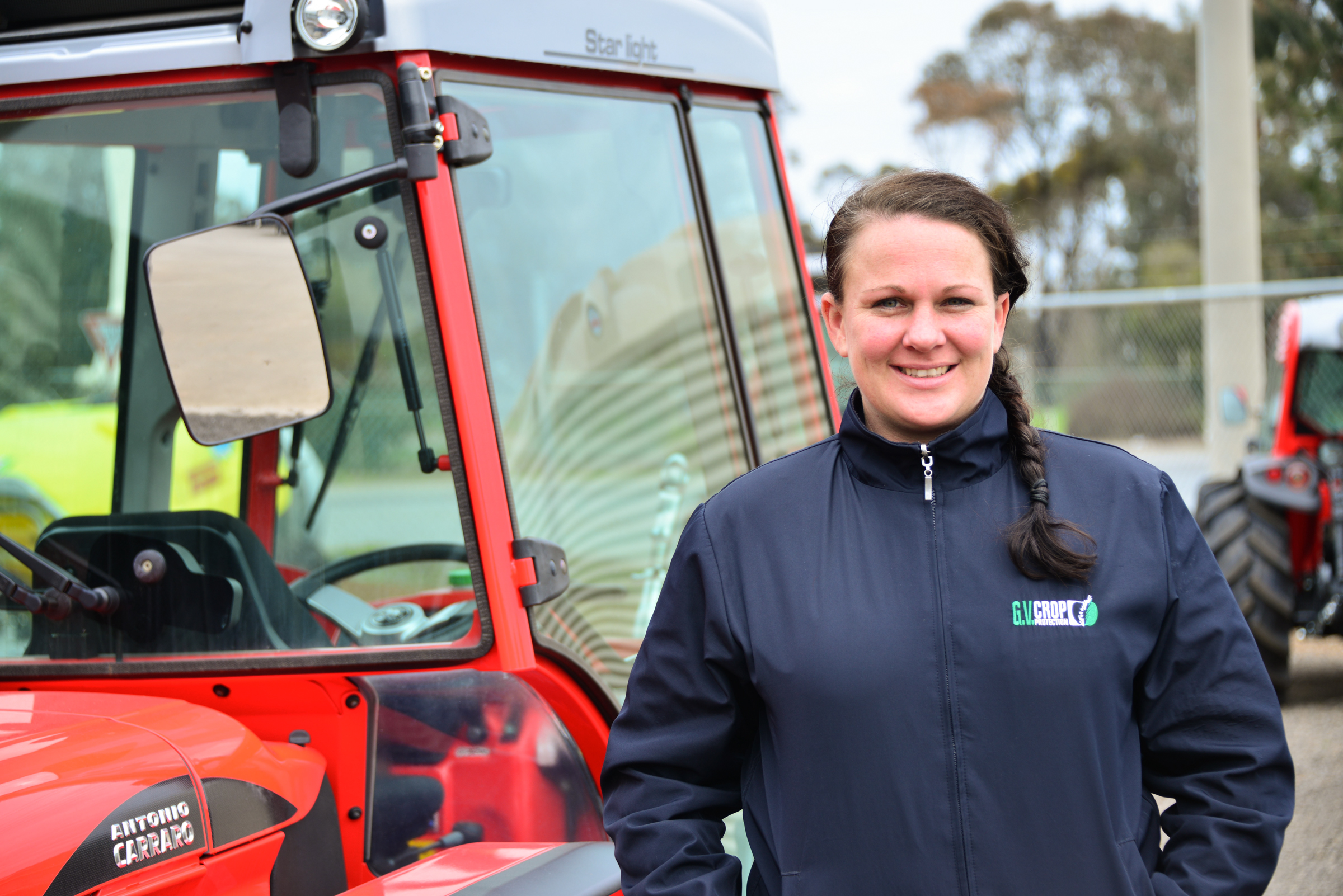 Elizabeth Mace, Field Officer for G.V. Crop Protection, Goulburn Valley, 2016, Source: Museums Victoria, Photographer: Tagen Baker