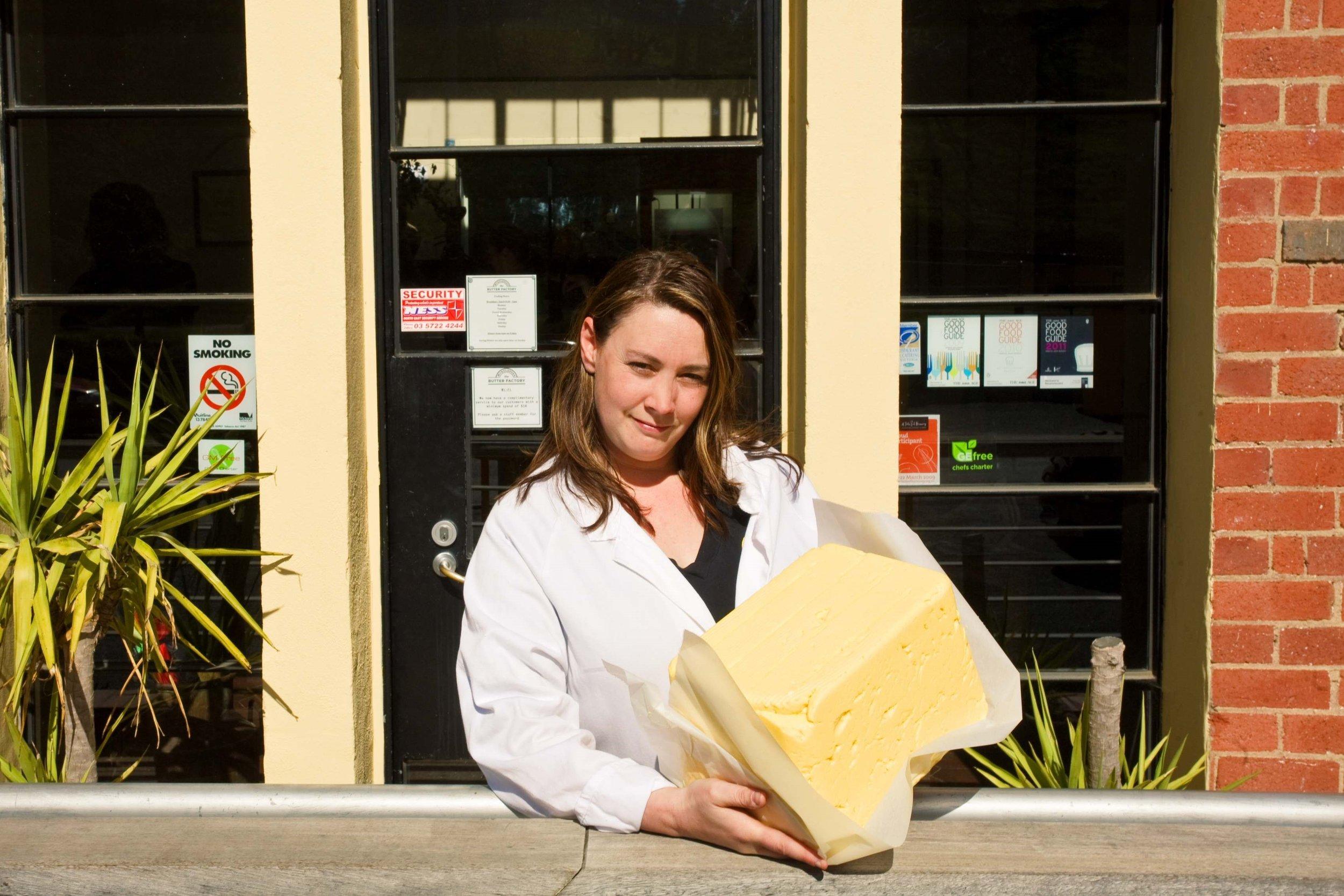 Naomi Ingleton of King Valley Dairy, Moyhu, image: supplied.