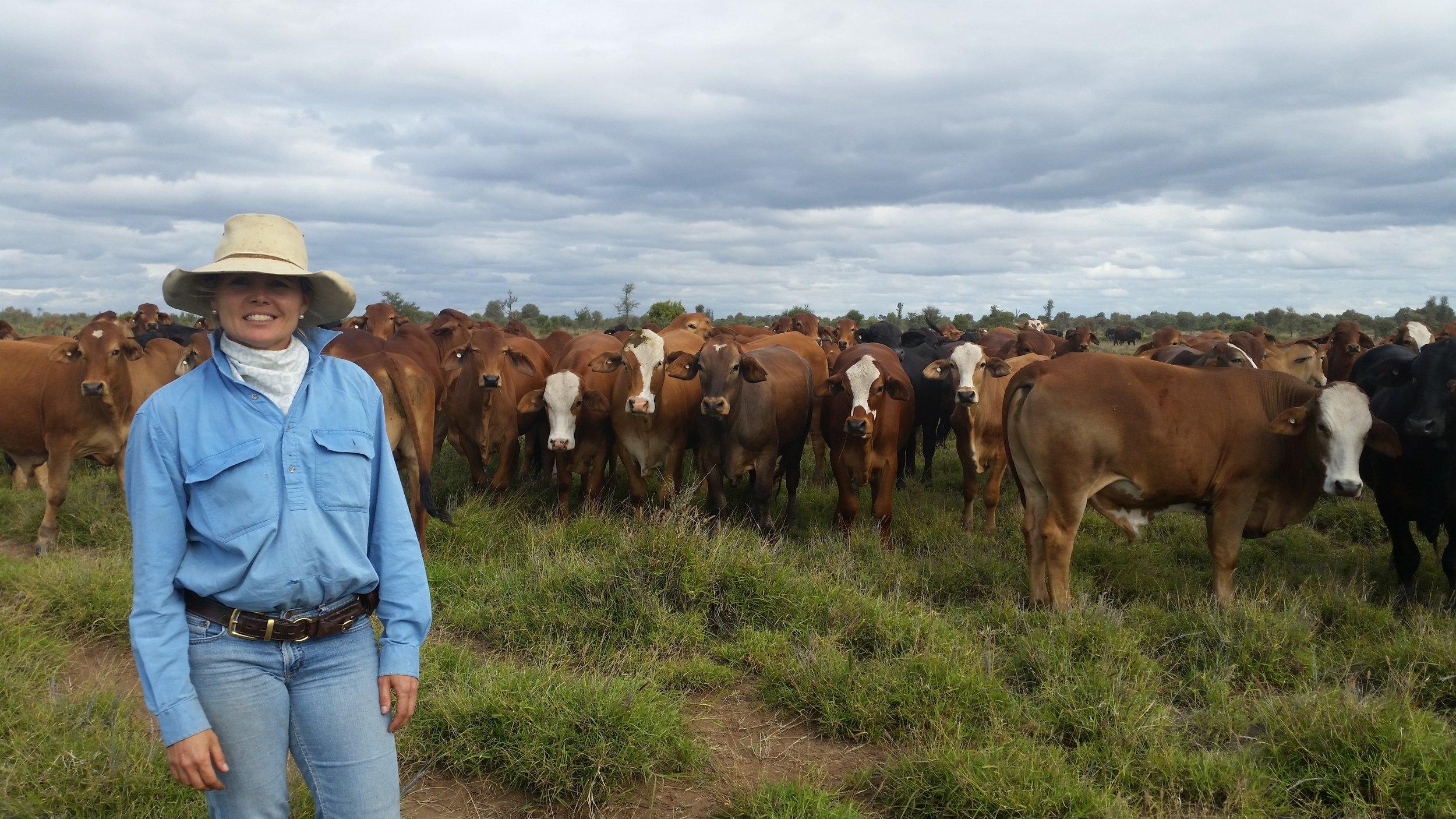 Rebecca Comiskey, Alpha, Queensland, image: supplied.