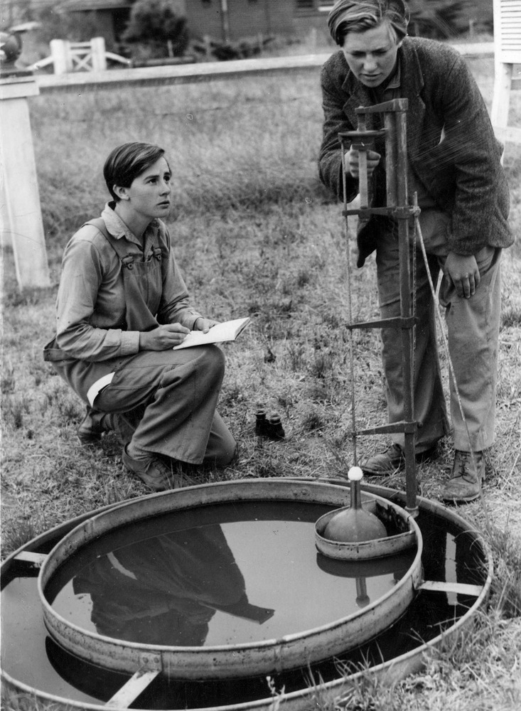 Women of the Australian Women's Land Army at Work (c. 1941-1943),  Argus Newspaper Collection of Photographs , State Library of Victoria