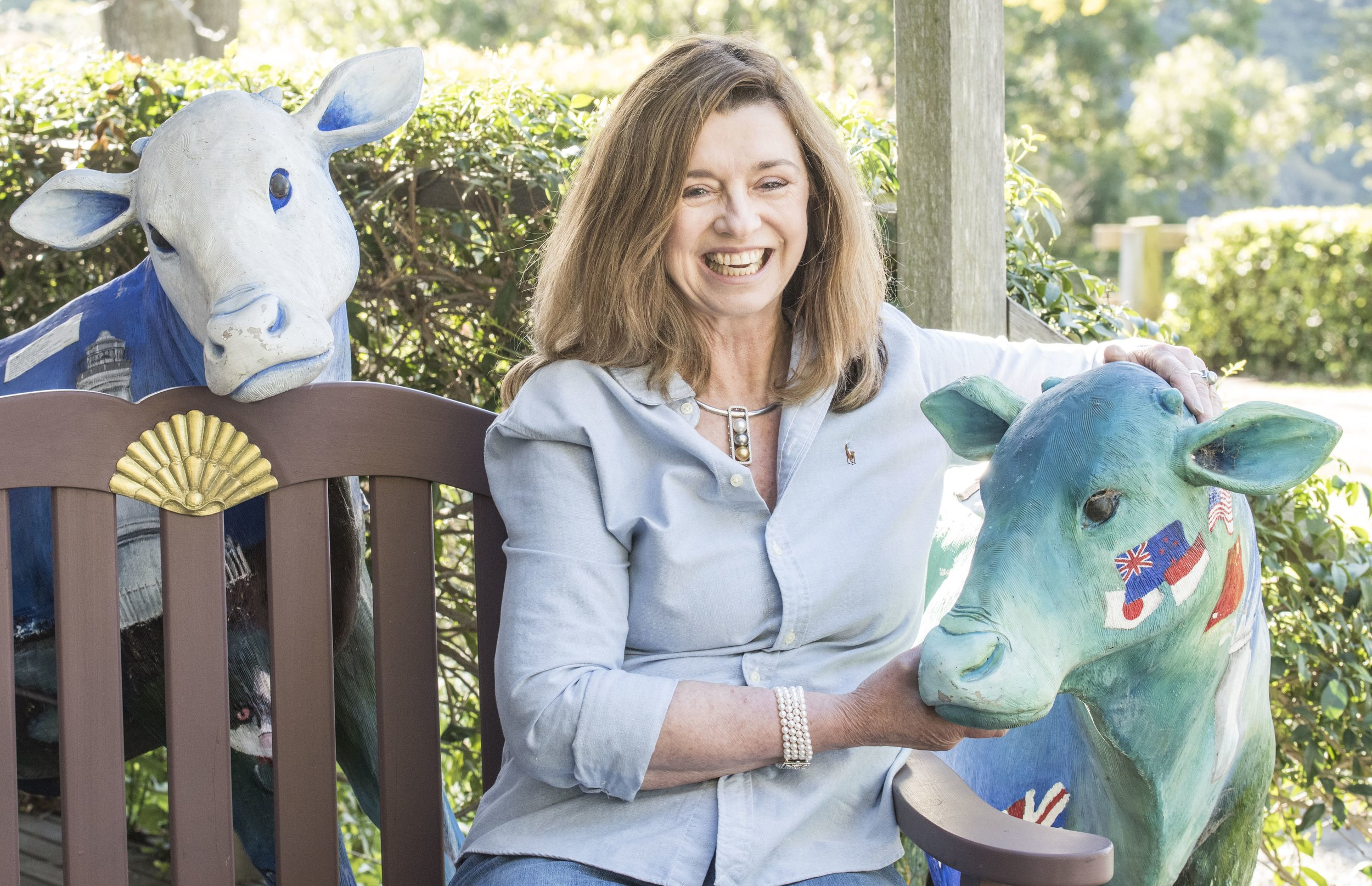Art4Agriculture founder and director Lynne Strong, 2017, image supplied.