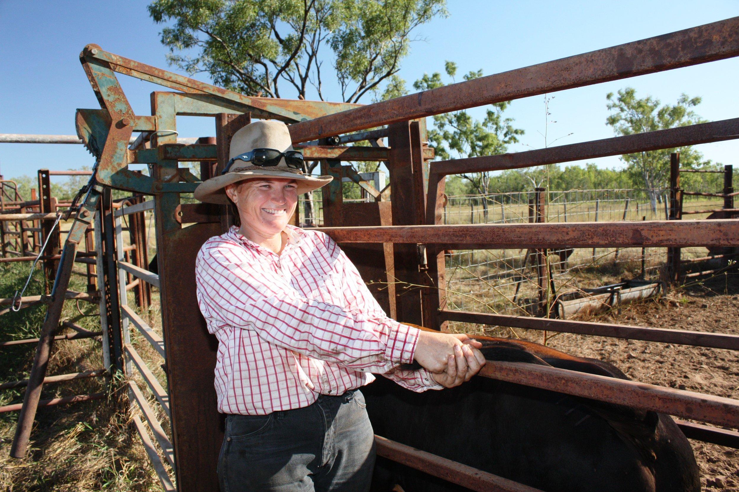 Lisa at Lorella Springs,image supplied.