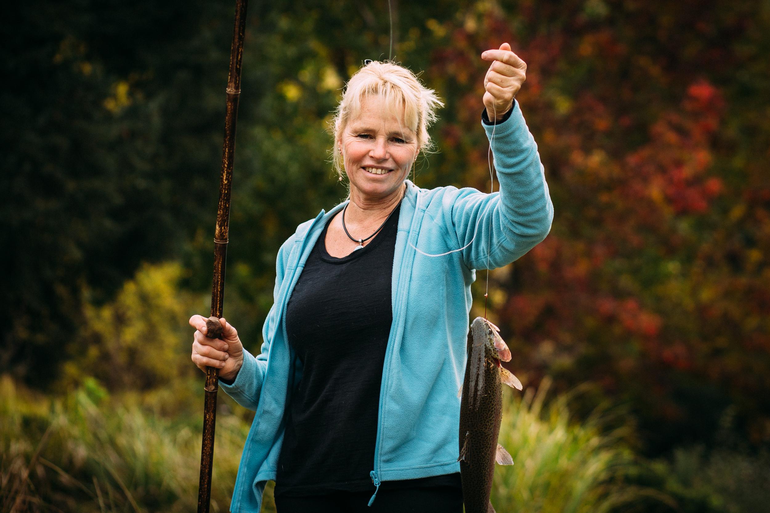 Sally Hall (trout farmer, VIC)