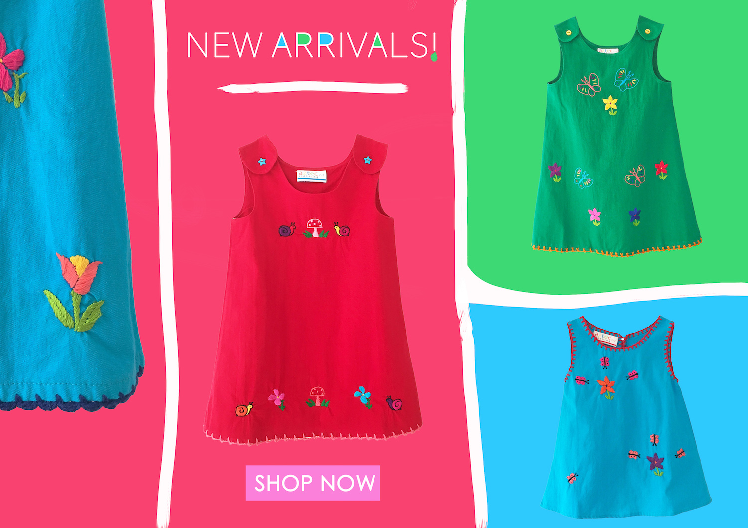 New Arrivals Girls Mexican Dresses
