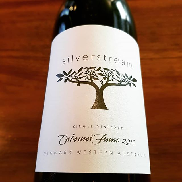2010 Cabernet Franc from Denmark, made by @silverstreamwines  Drinking beautifully now at just 9 years young, blackberry and black cherry with the signature meaty charcuterie note of cab franc. Delicate tannins and moreish acidity. On by the glass now!  #billiehsupperwinebar