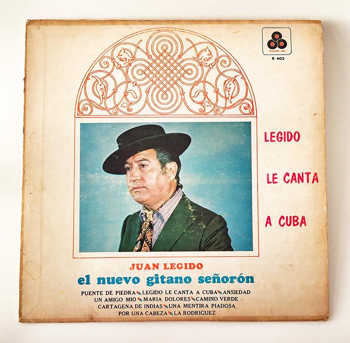 Juan Legido, Legido Le Canta A Cuba, front
