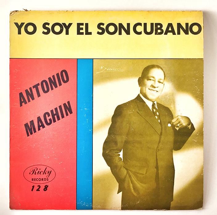 Antonio Machin, front cover