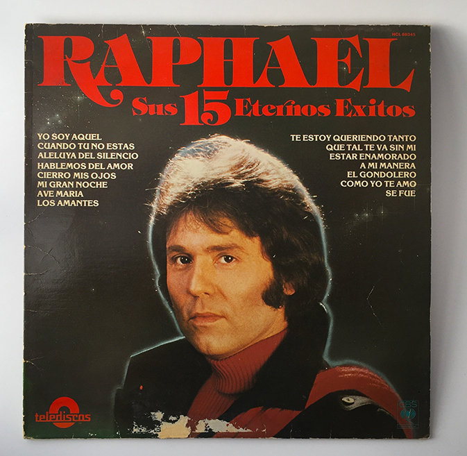 Raphael, front cover, 1987
