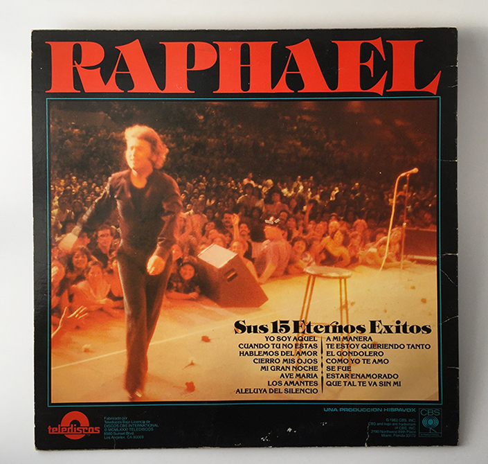 Raphael, back cover, 1987
