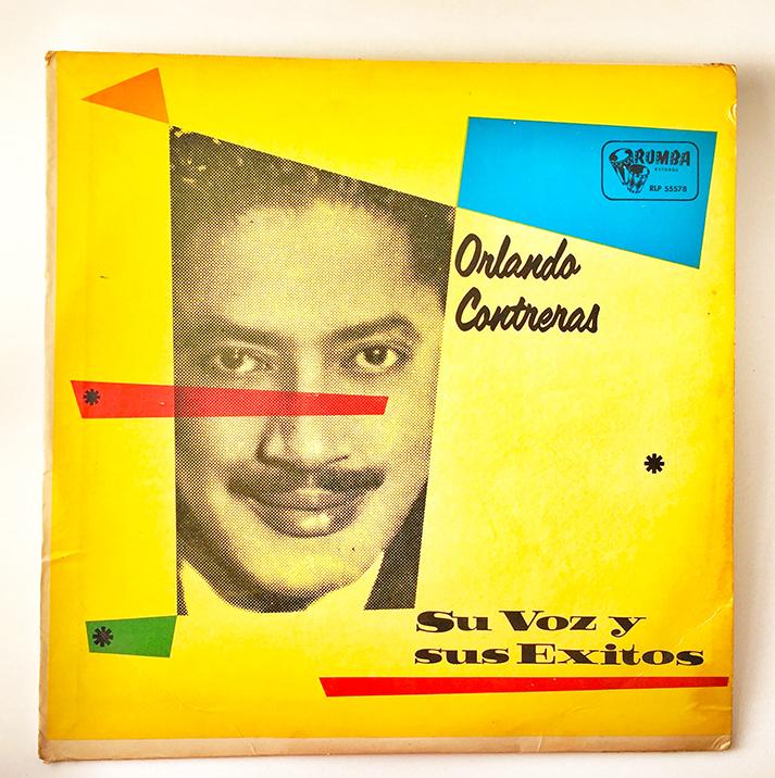 Orlando Contreras, Su Voz y Sus Exitos, front