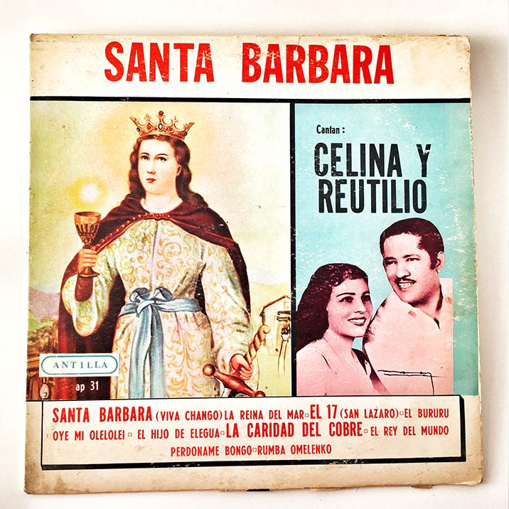 Celina y Reutilio, Santa Barbara, 1974, front