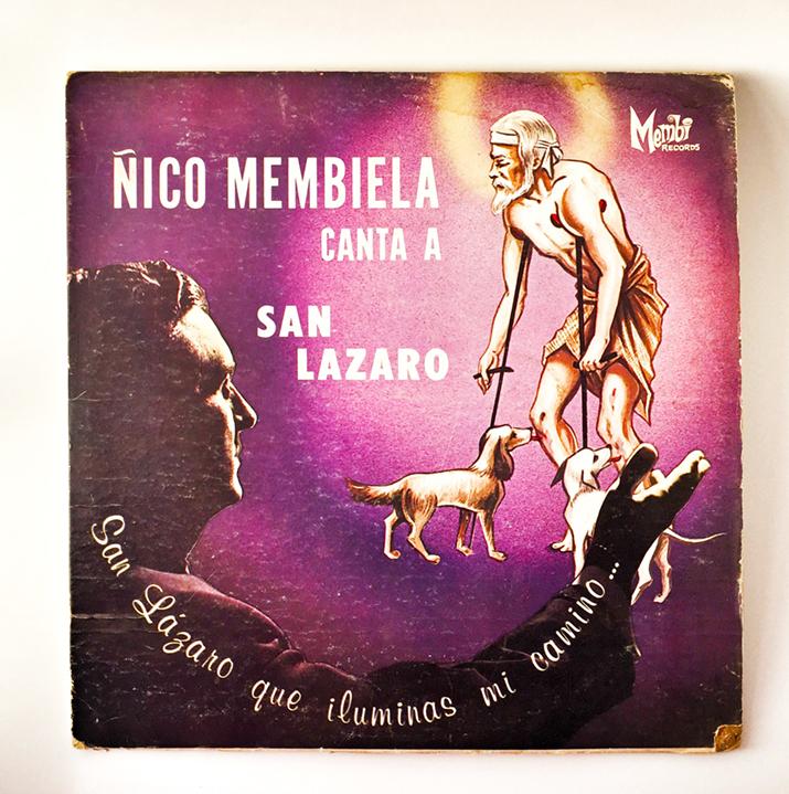 Ñico Membiela, Canta a San Lazaro, 1967, front