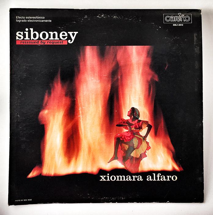 Xiomara Alfaro, Siboney, 1967, front