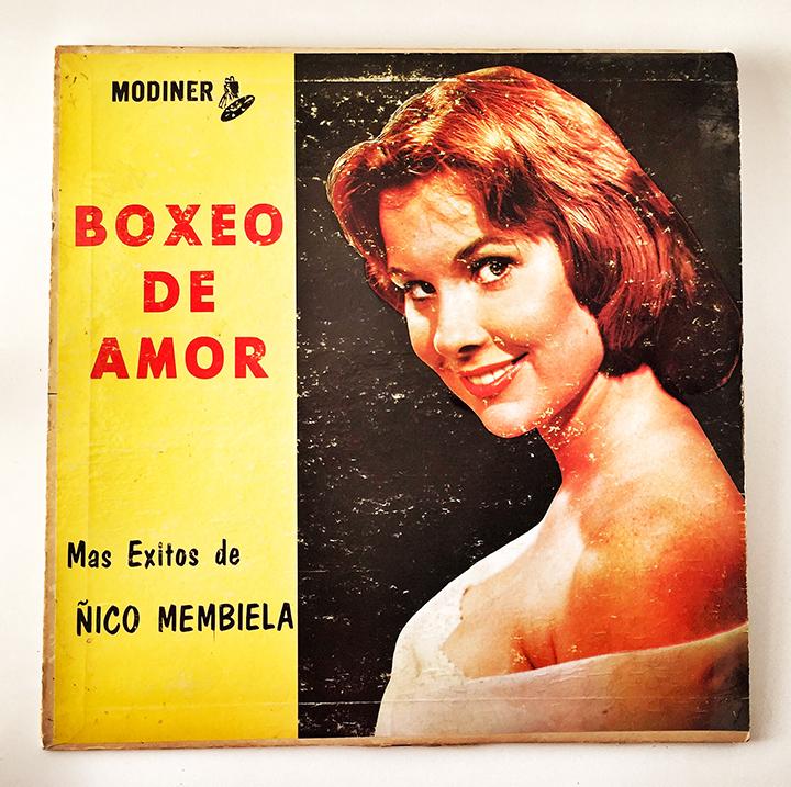 Nico Membiela, Boxeo de Amor, front